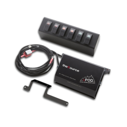 sPod Source con 6 switch System Jeep Wrangler JK 2009-2016