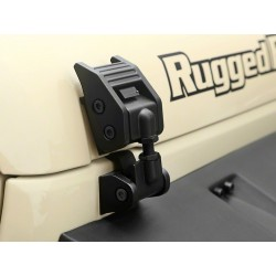 Ganci cofano Rugged Ridge in alluminio Jeep Wrangler JK