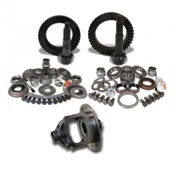 Kit completo coppie coniche + kit revisione completa differenziali Jeep Wrangler JK Non-Rubicon Dana 30+44