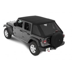 Soft Top telo Bestop Trektop NX Jeep Wrangler JL Unlimited