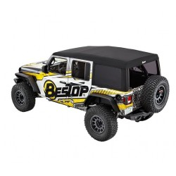 Soft Top telo Bestop Supertop Ultra Jeep Wrangler JL Unlimited / Black Twill
