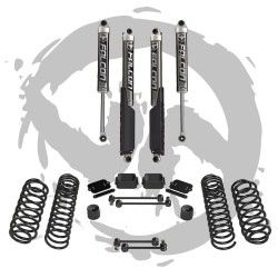 "Kit rialzo molle Teraflex 2.5"" con Falcon 2.1 SP2  Jeep Wrangler JL Unlimited"