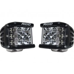 Coppia Fari Rigid Industries Dually SIDE SHOOTER Fascio SPOT 1